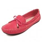 Women's Shoes Nz Fleece Flat Heel Comfort/Round Toe Boat Shoes Nz Office & Career/Dress/Party & Evening Black/Purple/Red/Beige Boat Shoes
