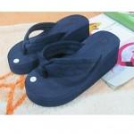 Women's Shoes Nz PVC Flat Heel Flip Flops Slippers Outdoor Black / Blue / Green / Red / Navy / Orange Slippers & Flip-Flops