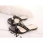 Women's Shoes Nz Flat Heel Flip Flops/Open Toe Sandals Casual Black/Red Slippers & Flip-Flops