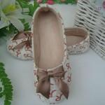 Women's Cotton Letters Pattern Flats Yoga Dance Shoes Nz Slippers & Flip-Flops