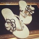 Women's Shoes Nz Synthetic Low Heel Flip Flops Slippers Outdoor/Casual Beige Slippers & Flip-Flops