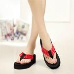 Women's Shoes Nz Platform Slingback/Flip Flops Slippers Casual Black/Pink/Red Slippers & Flip-Flops