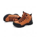 Waterproof Hiking Women's Shoes Nz Genuine Leather Purple/Orange/Khaki Athletic Shoes