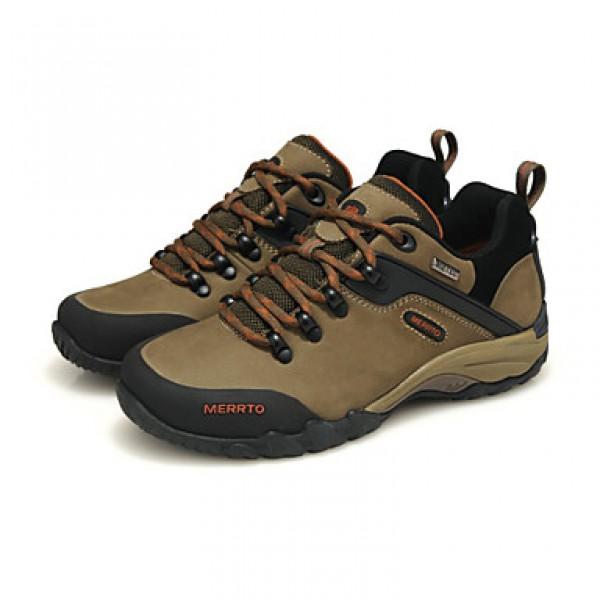 Hiking Women's Shoes Nz Genuine Leather Yellow/Taupe/Orange/Khaki Athletic Shoes