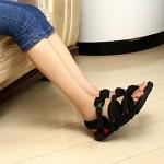Men's Sport Sandals Shoes Nz Fabric Black Athletic Shoes