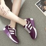 Women's Walking Shoes Nz Faux Leather Black/Blue/Green/Purple Athletic Shoes