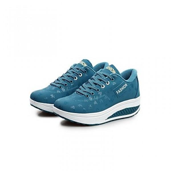 Women's Fitness & Cross Training Shoes Nz Faux Leather Black/Blue/Khaki Athletic Shoes