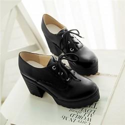 Women's Shoes Nz  Flat Heel Round Toe Oxfords Outdoor/Office & Career/Casual Blue/Green/Pink/Beige/Orange Oxfords
