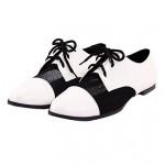 Leatherette Women's Flat Heel Comfort Oxfords Shoes Nz (More Colors) Oxfords