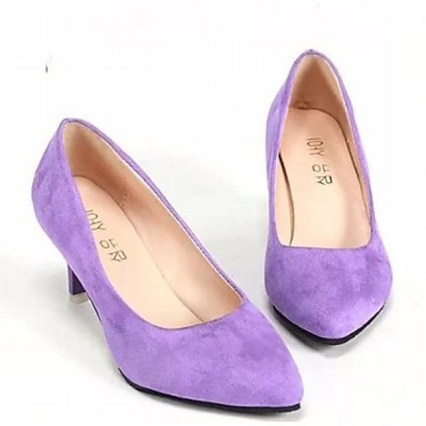 Women's Shoes Nz  Flat Heel Boat/Comfort Flats Outdoor/Office & Career/Dress Black/Blue/Green/Purple/Red Flats