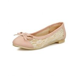 Women's Shoes Nz  Flat Heel Closed Toe Flats Office & Career/Dress/Casual Silver/Gold Flats