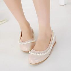 Leatherette Women's Flat Heel Comfort Flats Shoes Nz (More Colors) Flats