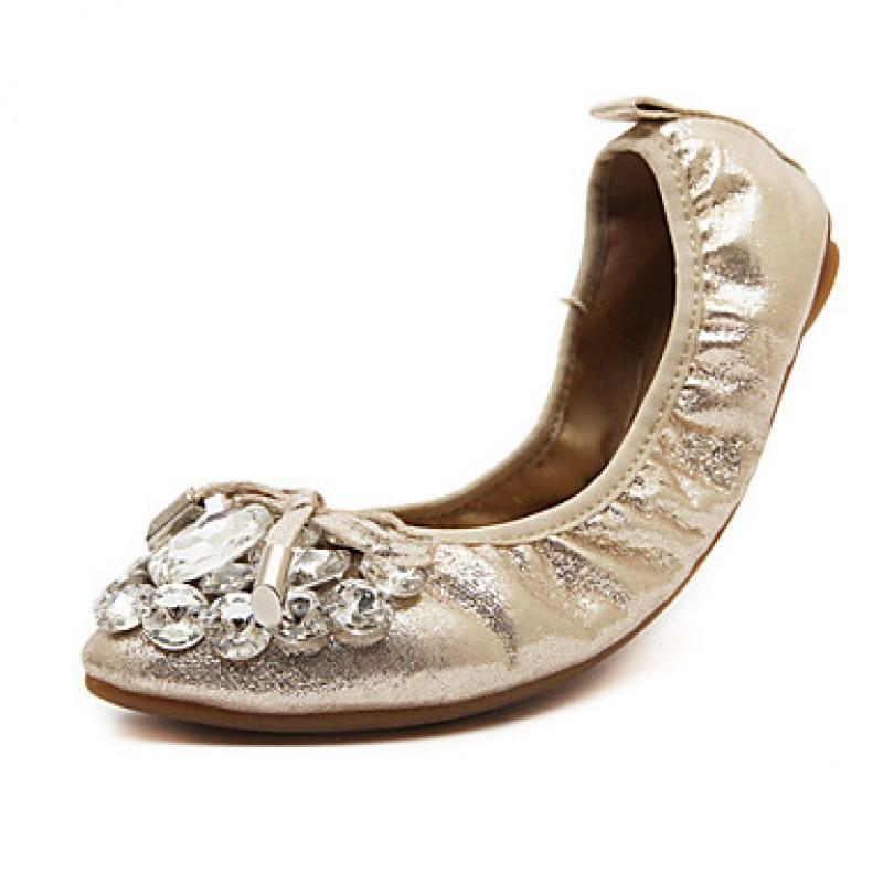 Womenu0026#39;s Shoes Nz Fabric Flat Heel Round Toe/Closed Toe ...