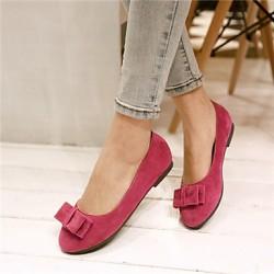 Women's Shoes Nz Leather Low Heel Heels Pumps/Heels Wedding/Party & Evening Red Flats