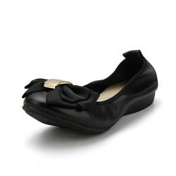 Women's Shoes Nz Flat Heel Pointed Toe Flats Outdoor/Dress Black/Red/Gray Flats