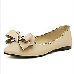 Leatherette Women's Flat Heel Ballerina Flats Shoes Nz (More Colors) Flats
