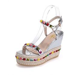 Lace/Suede Stiletto Heel Peep Toe With Zipper Party / Evening Shoes Nz (More Colors) Women's Sandals