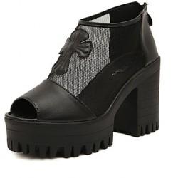 Women's Shoes Nz Leather Wedge Heel T-Strap Sandals Dress Women's Sandals