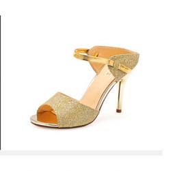 Women's Shoes Nz Leatherette Stiletto Heel Heels Pumps/Heels Party & Evening White Women's Sandals