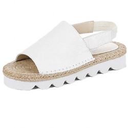 Leatherette Women's Stiletto Heel Platform Sandals Shoes Nz(More Colors) Women's Sandals