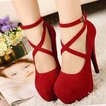 Women's Stiletto Heel Suede Pumps/Heels Shoes Nz(More Colors) Heels