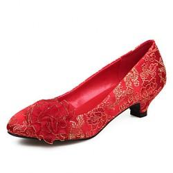 Women's Spool  Heel Round Toe Pumps/Heels Shoes Nz(More Colors) Heels