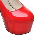 Women's Stiletto Heel  Platform Pump Shoes Nz(More Colors) Heels