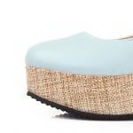 Women's Platform  Round Toe  Pumps/Heels Shoes Nz (More Colors) Heels