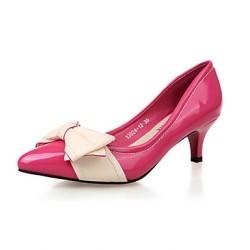 Suede Women's Stiletto Hee Platforml Heels Pumps/Heels with Bowknot Shoes Nz(More Colors) Heels