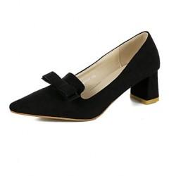 Women's Shoes Nz Patent Leather Stiletto Heel  Pointed Toe Heels Dress Black / Orange Heels