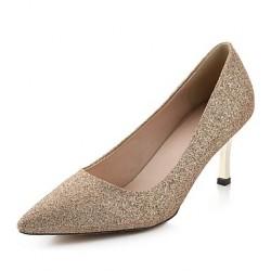 Women's Shoes Nz Leatherette Stiletto Heel Heels/Peep Toe Pumps/Heels Casual Multi-color Heels