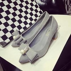 Women's Shoes Nz Synthetic Low Heel Heels/Basic Pump Pumps/Heels Office & Career/Dress/Casual Yellow/Pink/Beige/Orange Heels
