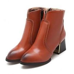Samba  Women's Boots  Stiletto Heel Zipper Dance Shoes Nz (More Colors) Boots